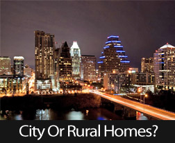 City Lights Or Starlit Nights, What Home Location Will You Choose?