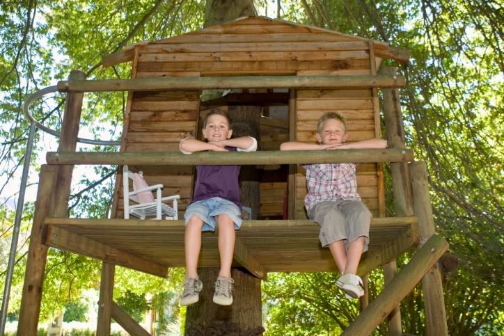Simple Tree House Designs Children