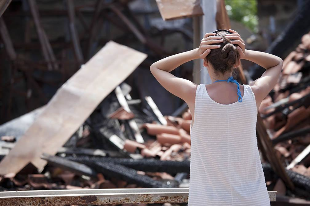 If Your Home Is Destroyed in a Natural Disaster, What Happens to Your Mortgage?