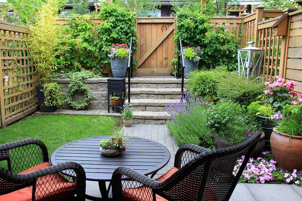 , Make the Most Of A Small Yard Space, Biscotto Team, Biscotto Team