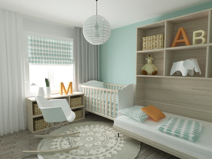 Not Sure If It's a Boy or a Girl? Stunning Gender Neutral Nursery Design Themes for 2014
