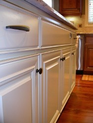 Painted Kitchen Cabinets - Indoor DIY Projects