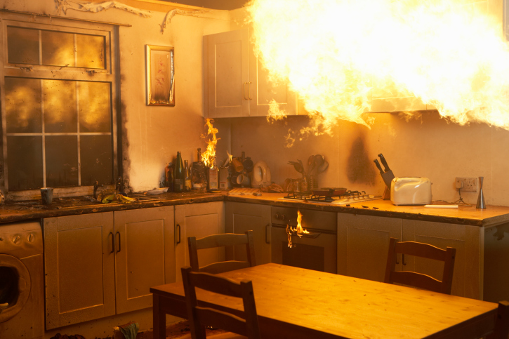 Safety Tips: 5 Ways to Prepare for a House Fire - and What to Do if One Breaks Out