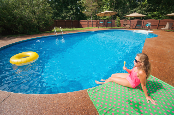Seeking the perfect summer home improvement project it 39 s time for an inground pool my ok home - My perfect pool ...